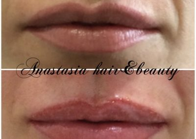 lipliner and full lip colour vancouver